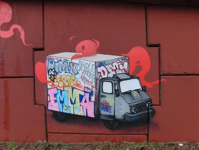 Street Art Par Dran - Massy (France)