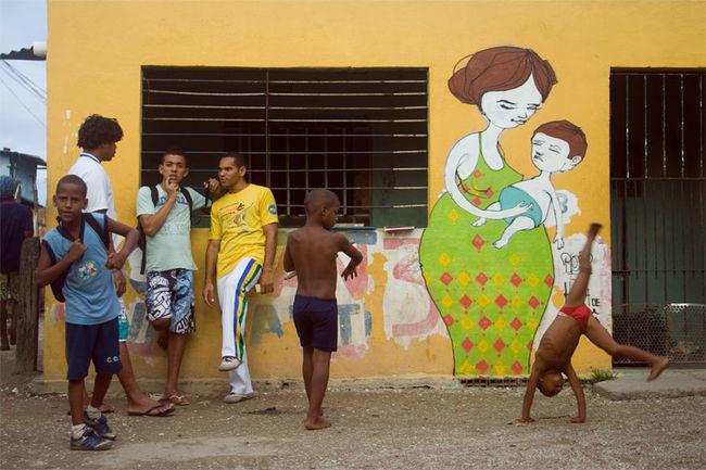 Personnages Par Blo - Recife (Bresil)