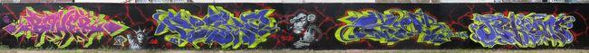 Big Walls By Boher, Chile, Ozer, Jekil - Strasbourg (France)