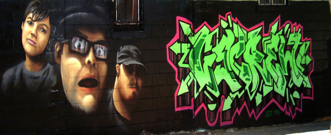 Fresques Par Battle - Toronto (Canada)