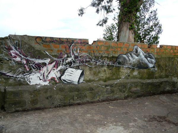 Street Art Par Neil Edward - Porto (Portugal)