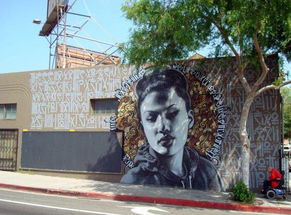 Personnages Par El Mac, Retna - Los Angeles (CA)
