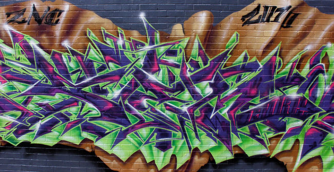 Fresques Par Gore - Brisbane (Australie)