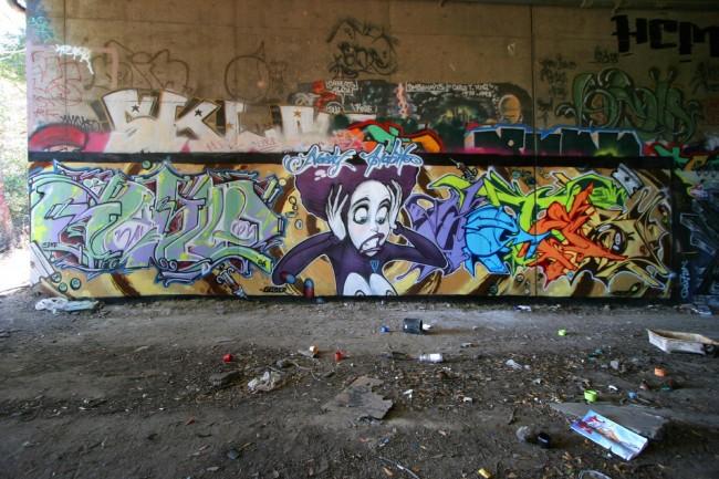 Fresques Par Germs, Goser, 4get - San Francisco (CA)