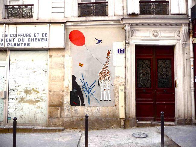 Street Art By Mosko , Nemo - Paris (France)