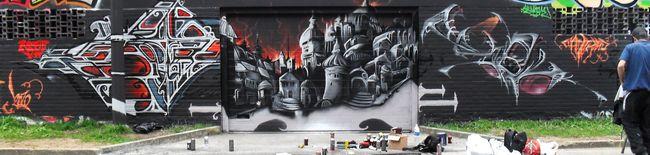 Big Walls By Hekonerz - Bruxelles (Belgium)