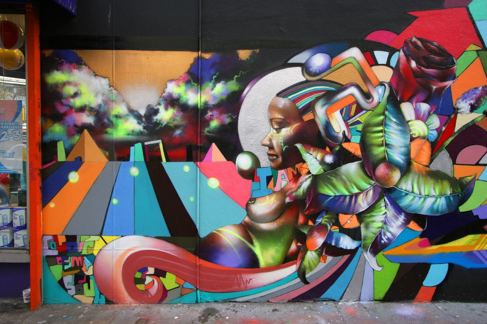 Street art by chor boogie san francisco ca