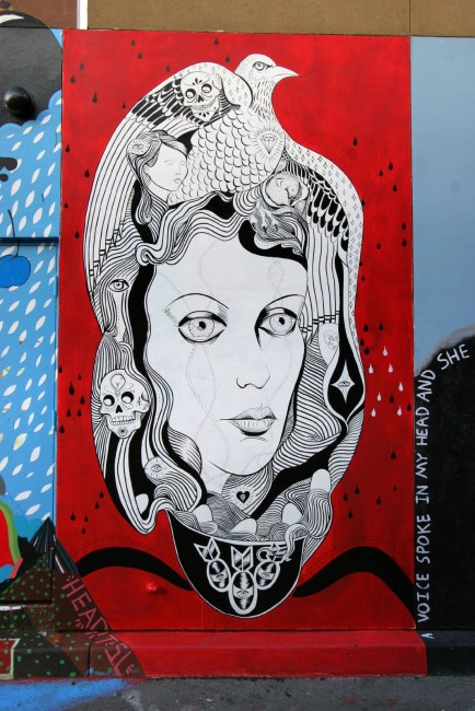 Street Art Par Mary Scott - San Francisco (CA)