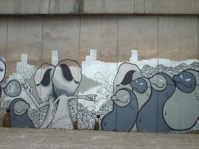 Street Art Par Vlt Crew, Snozze - Kuala Lumpur (Malaisie)