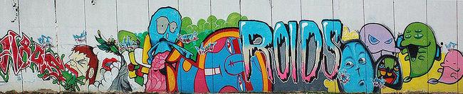 Street Art Par Roid, Vlt Crew - Kuala Lumpur (Malaisie)