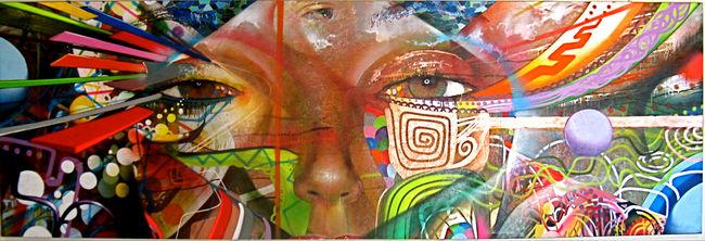 Street Art Par Chor Boogie - San Diego (CA)
