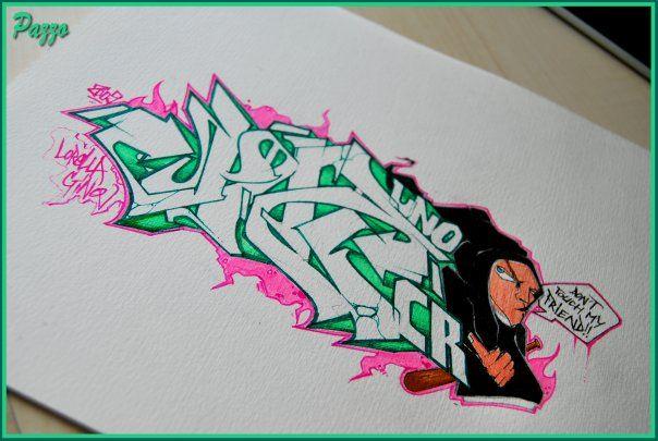 Sketch By Ozzap - Valenciennes (France)