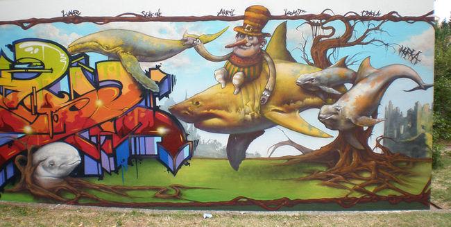 Fresques Par Morka - Rijeka (Croatie)