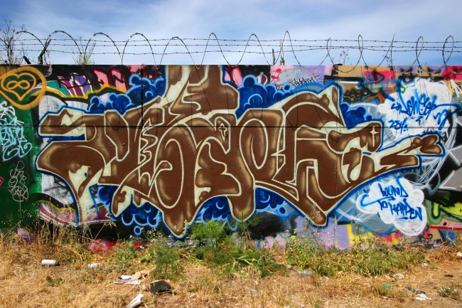 Piece By Silencer - San Francisco (CA)