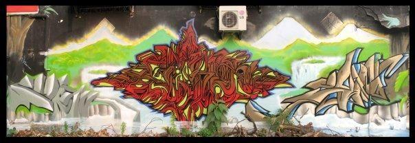 Fresques Par Emk - Tuban (Indonesie)