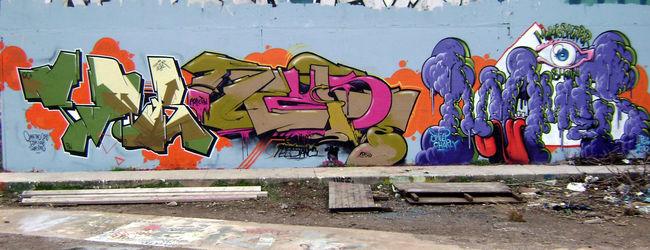 Throw Ups Par Xodertroublerezist - Montpellier (France)