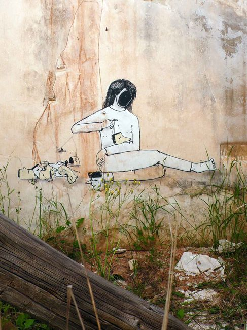 Street Art Par Hyuro - Valence (Espagne)