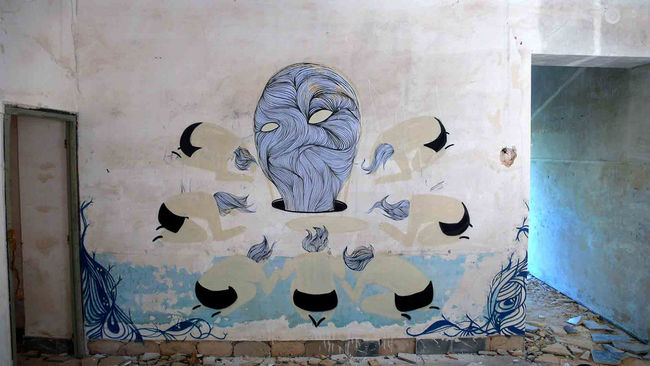 Street Art By Hyuro - Valenza (Spain)