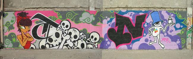 Big Walls By Toner-nome - Lyon (France)