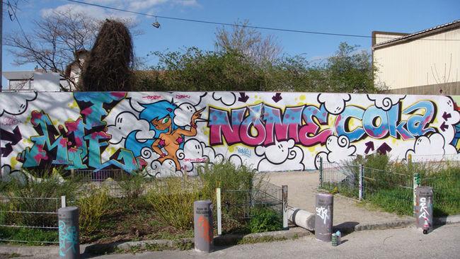Big Walls By Mite-toner-nome-coka - Lyon (France)