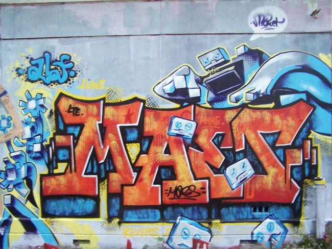 Big Walls By Maeslte - Bazainville (France)