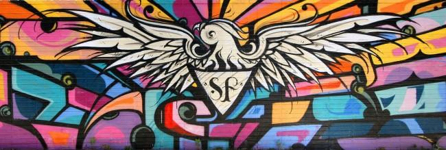Street Art Par Reyes - San Francisco (CA)