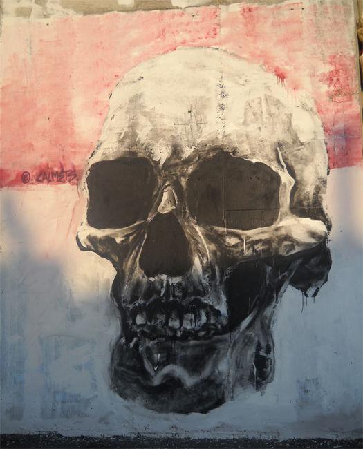 Street Art Par Calmets - Poitiers (France)