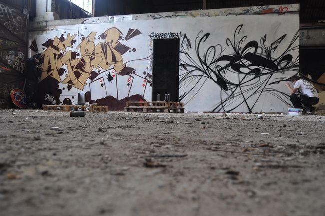 Piece By Ackro, Dream - Fontainebleau (France)