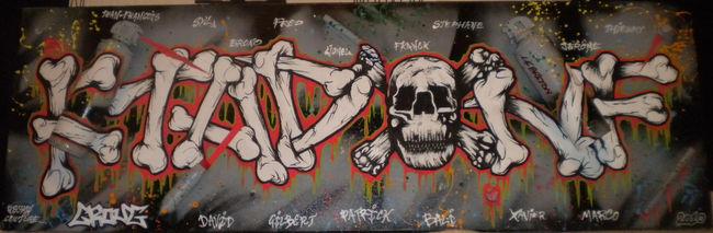 Street Art Par Croug - Malakoff (France)