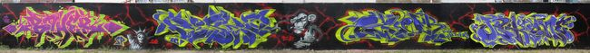 Big Walls By Boher, Chile, Ozer, Jekil - Strasbourg (France)