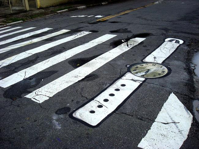 Street Art Par 6emeia - Sao Paulo (Bresil)