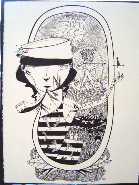 Sketch Par Akn - Sao Paulo (Bresil)