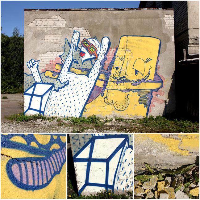 Personnages Par Signor Sick, Karma - Tallinn (Estonie)