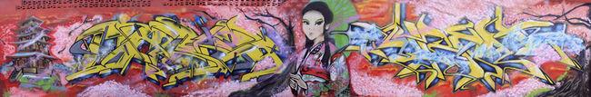Fresques Par Argh, Lunadash9 - Makassar (Indonesie)