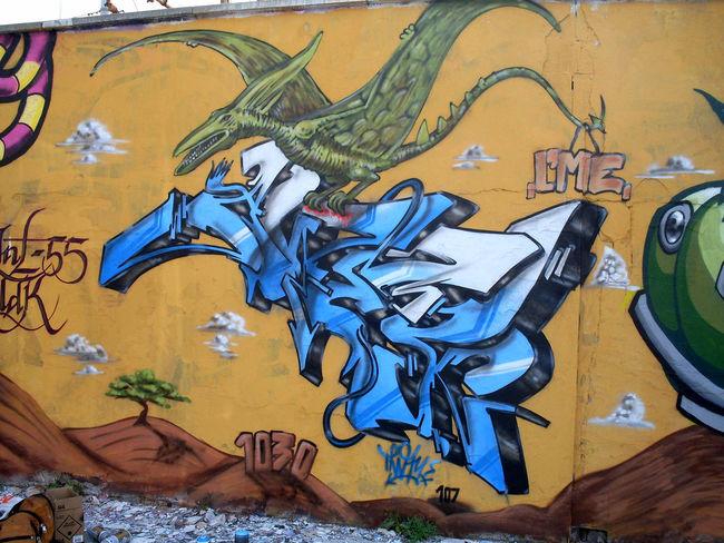 Fresques Par Away - Milan (Italie)