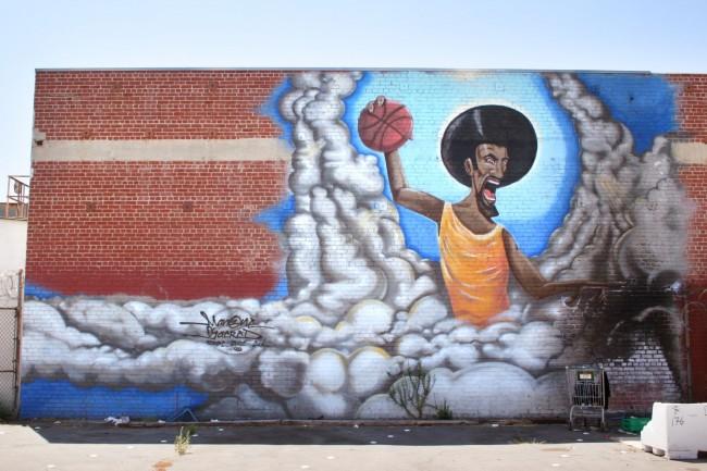 Big Walls By Man One, Sacred - Los Angeles (CA)