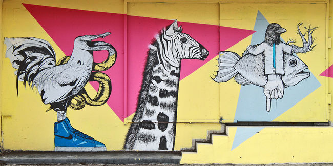 Street Art Par Juan Fernandez - San Juan (Porto Rico)