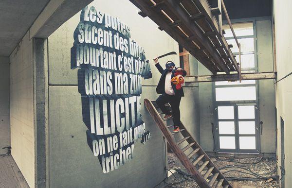 Street Art Par Chifumi - Mulhouse (France)