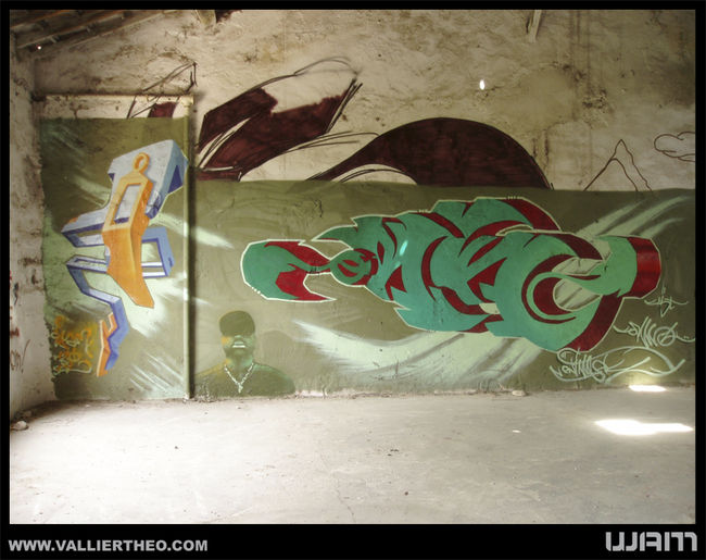 Big Walls By Wam - Gemenos (France)