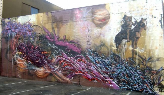 Fresques Par Chez, Natrl, Rome, Nero, Poesia - San Francisco (CA)
