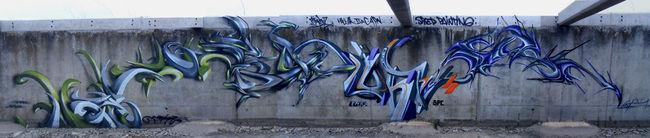 Big Walls By Caligr, Luner, Djalouz, Rash - Perpignan (France)