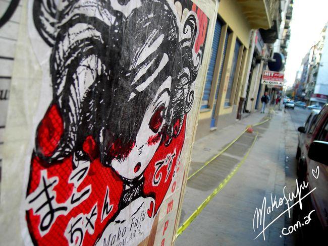 Personnages Par Mako Fufu - Buenos Aires (Argentine)