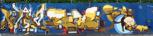 Fresques Par Dems, Wow123, Satone - Ingolstadt (Allemagne)