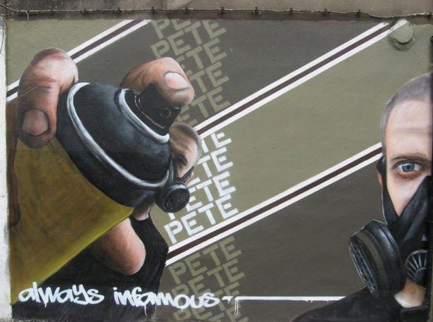 Personnages Par Pete One - Renaix (Belgique)