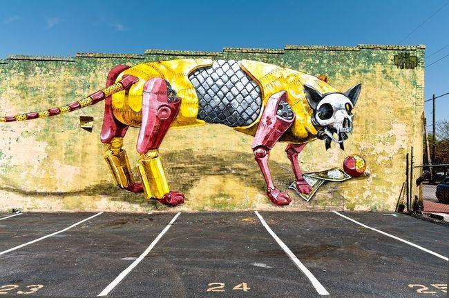 Fresques Par Pixelpancho - Richmond (VA)