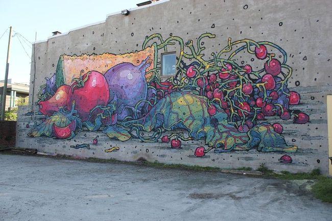 Fresques Par Aryz - Richmond (VA)