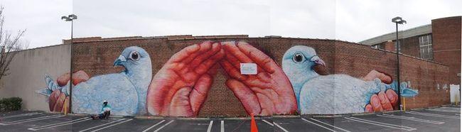 Street Art Par Gaia - Richmond (VA)