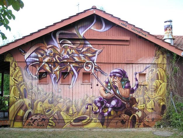 Fresques Par Rok2 - Innsbruck (Autriche)