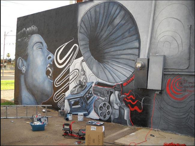 Fresques Par Roy Sproule/black Angus - Phoenix (AZ)