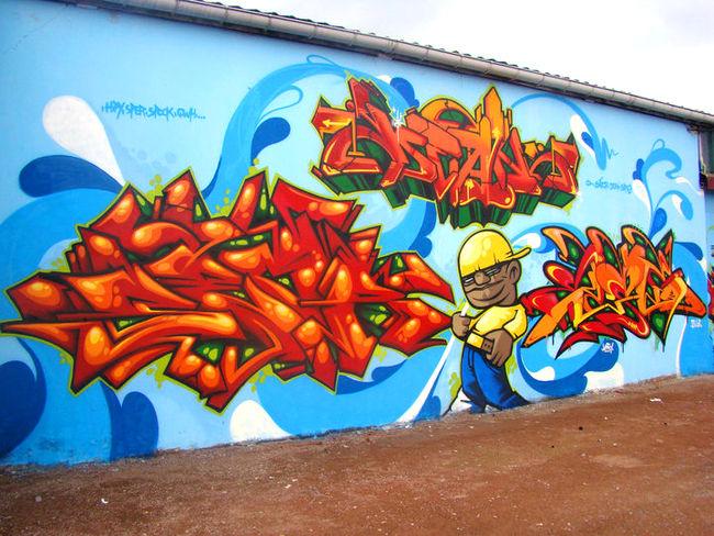 Big Walls By Dean, Seor, Sope2 - Valenciennes (France)
